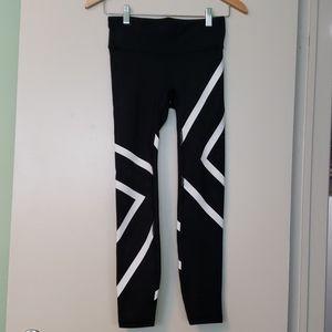 Gap - Black and White Legging